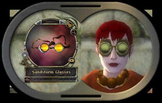 Sandstorm Goggles