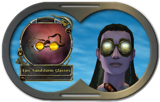 Epic Sandstorm Glasses