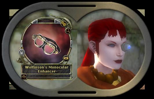 Wolfinson's Monocular Enhancer