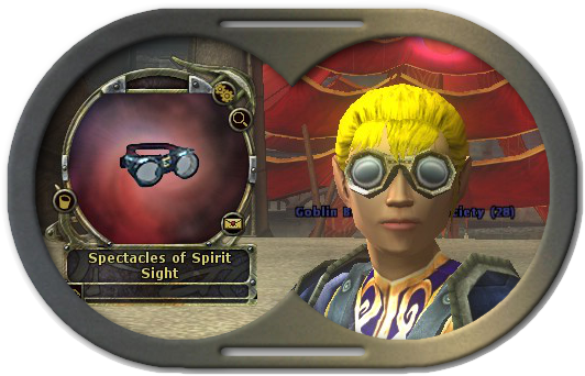 Spectacles of Spirit Sight