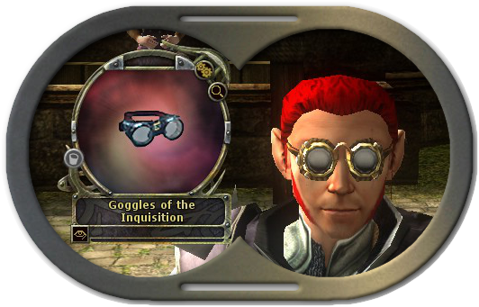 Goggles of the Inquisition