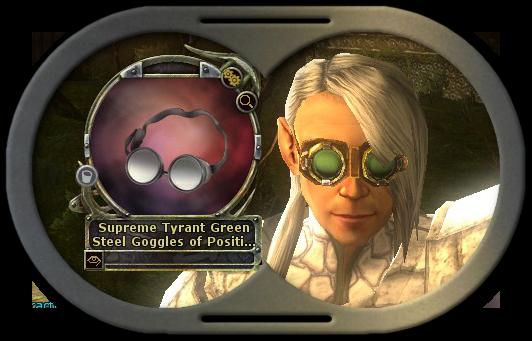 Greensteel Goggles