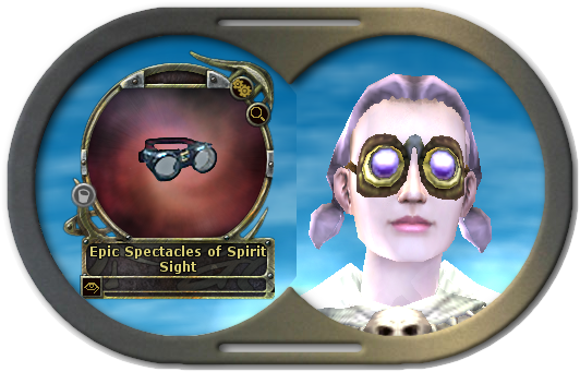 Epic Spectacles of Spirit Sight