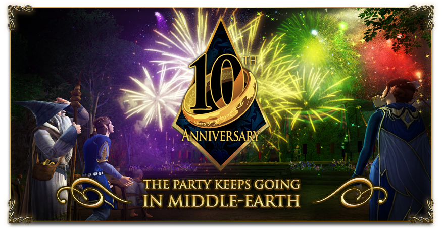 10th Anniversary | The Lord of the Rings Online