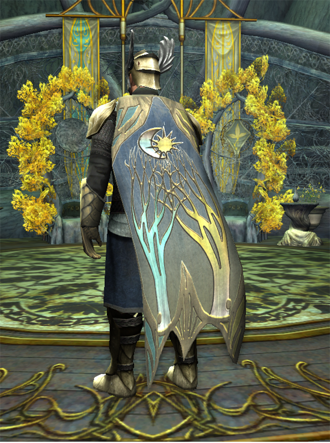 Alliance Themed Cloak