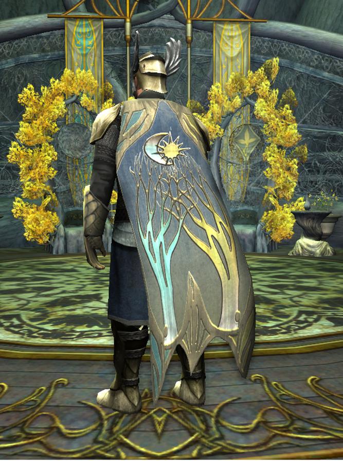 Alliance Themed Cloak