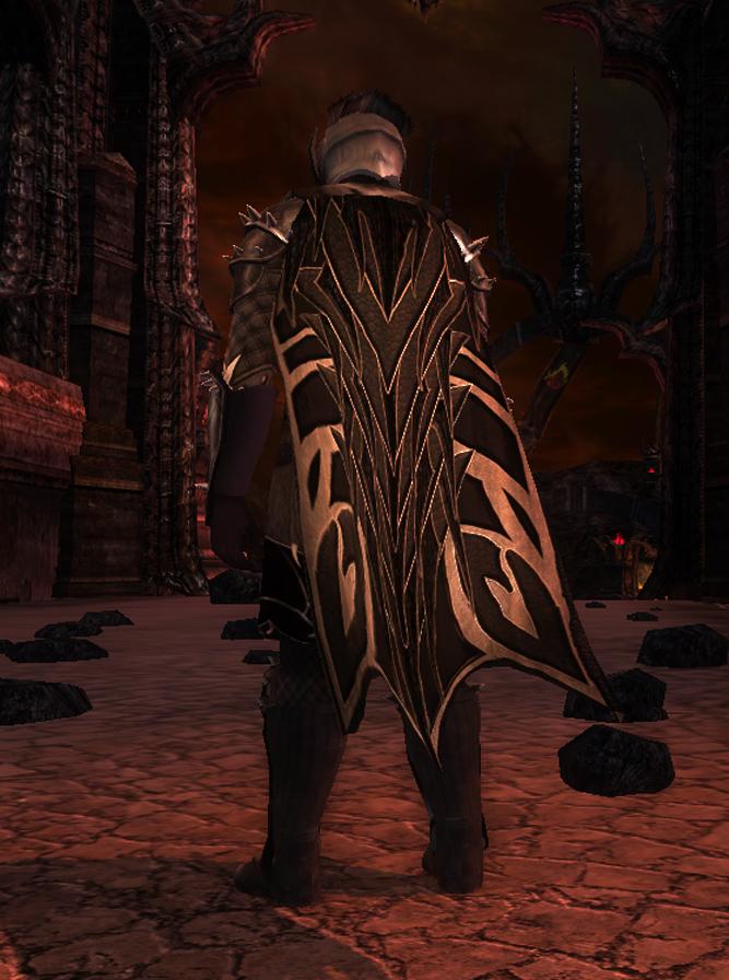 Mordor Themed Armour