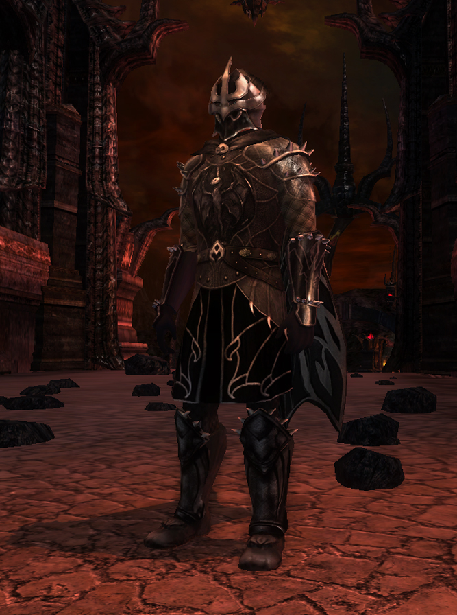 Mordor Themed Armour