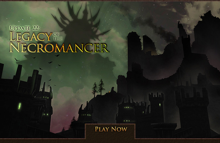 Update22 Legacy of the Necromancer is now live!