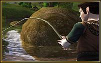 Lasst Eure Angelschnur in den Teich gleiten!