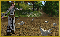 Das Eiergerangel auf Sandsons Bauernhof