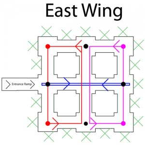 East Wing Map