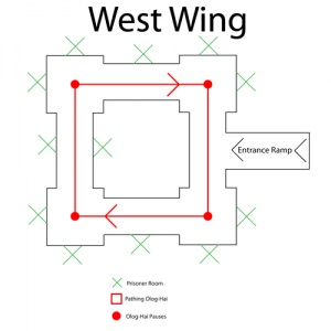 West Wing Map