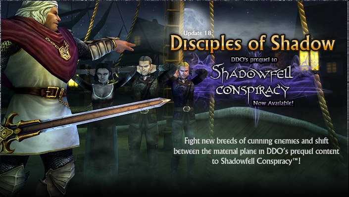 Update 18 - Disciples of Shadow