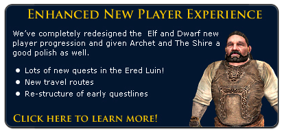 New Player Experience!